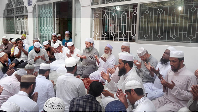 সিলেটে হেফাজতে ইসলামের দোয়া মাহফিল অনুষ্ঠিত
